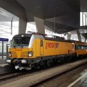 RegioJet train at Vienna Central station, source: RegioJet