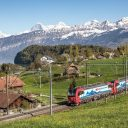 SBB freight train, source: SBB