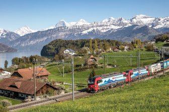 SBB freight train, source: SBB