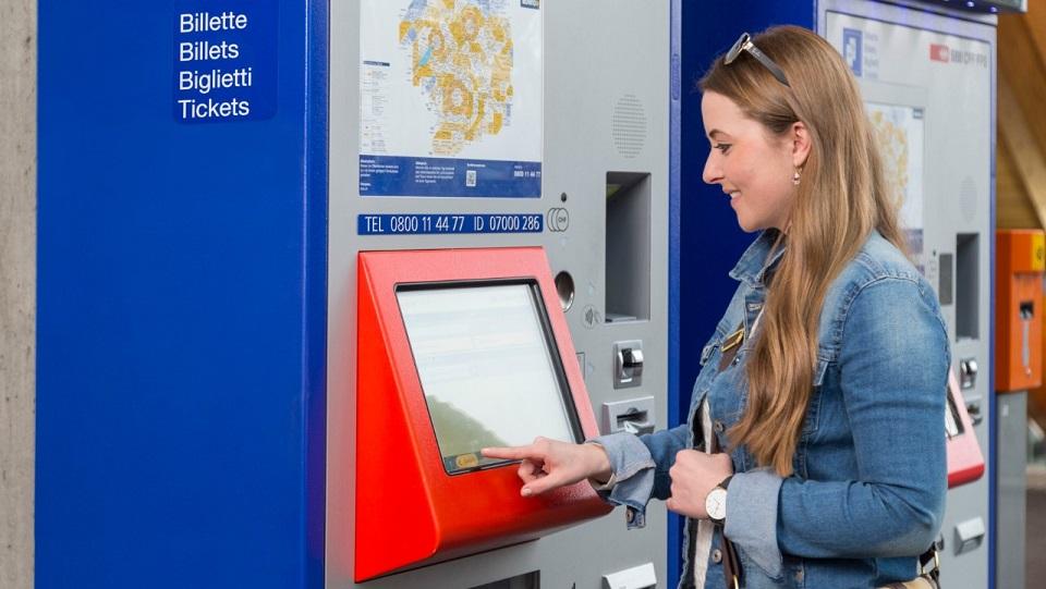SBB ticket machine, source: SBB
