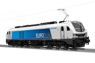 Stadler Eurodual locomotive, source: Stadler Rail
