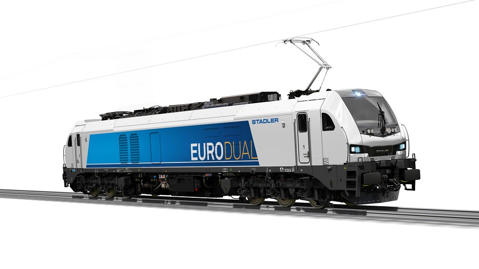 Stadler Eurodual locomotive, source: Stadler Rail