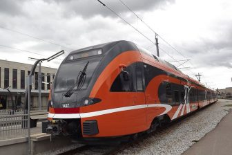 Stadler Flirt electric train in Estonia, source: Wikimedia Commons