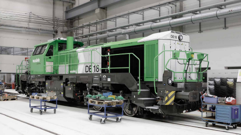 Vossloh DE18 locomotive, source: Vossloh