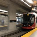 Alstom Citadis tram on Confederation Line in Ottawa, source: O-Train Fans