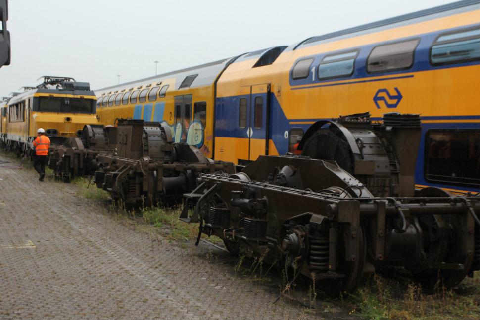 Bogies of NS Class 1700 locomotive, source: Paul van den Bogaard