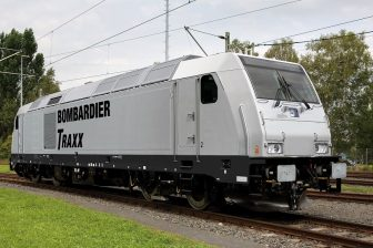 Bombardier TRAXX locomotive, source: Bombardier Transportation