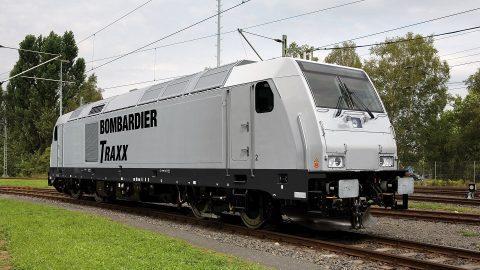 Bombardier TRAXX locomotive, source: Bombardier Transportation