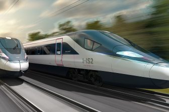 CAF-designed prototype for HS2 project, source: CAF