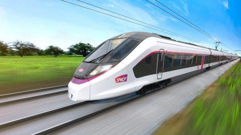 CAF intercity train for SNCF, source: CAF