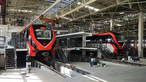 Changzhou Metro trains, source: Bombardier Transportation