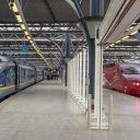 Eurostar, Thalys and TGV trains at Brussel-Zuid station, source: Maarten Otto via Flickr
