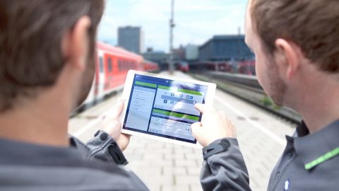 Knorr-Bremse digital solution, source: Knorr-Bremse