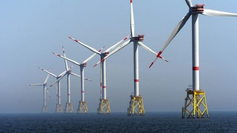 Offshore wind turbines, source: Deutsche Bahn (DB)