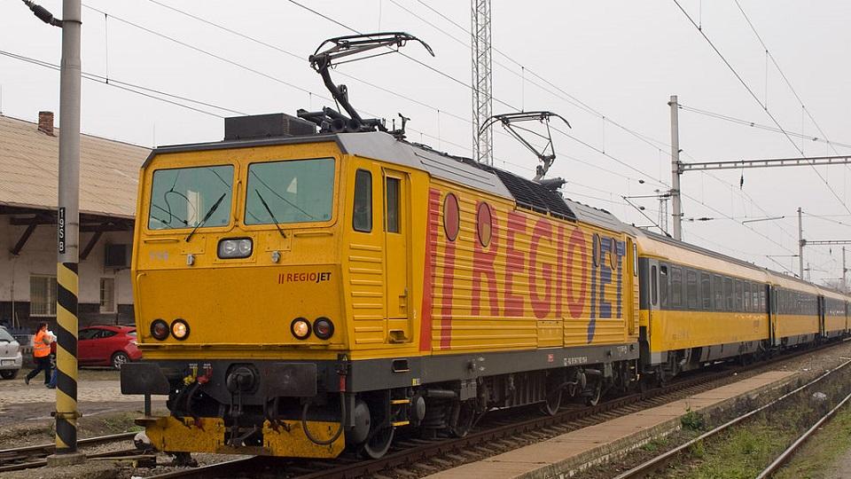 RegioJet Class 162 locomotive, source: Wikimedia Commons
