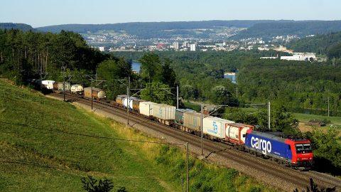 SBB Cargo train, source: SBB