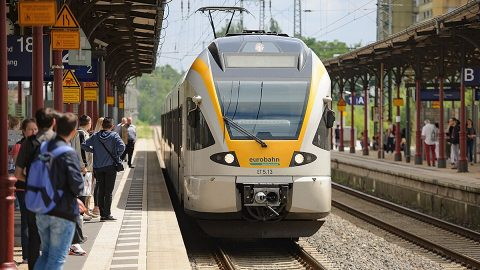 Stadler Flirt train of Keolis, source: Eurobahn