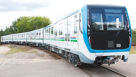 81-765 train for Tashkent Metro, source: Transmashholding