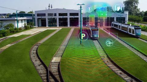 Autonomous Tram in Depot (AStriD), source: Siemens Mobility