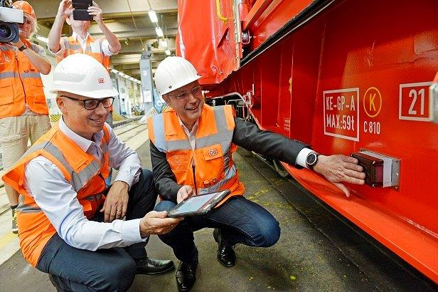 DB Cargo intelligent freight cars