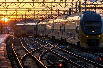 Double-decker train of Nederlandse Spoorwegen (NS), source: TU Delft