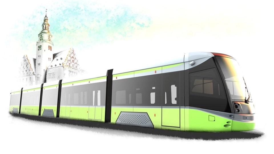 Durmazlar-made tram for Olsztyn, source: City of Olsztyn