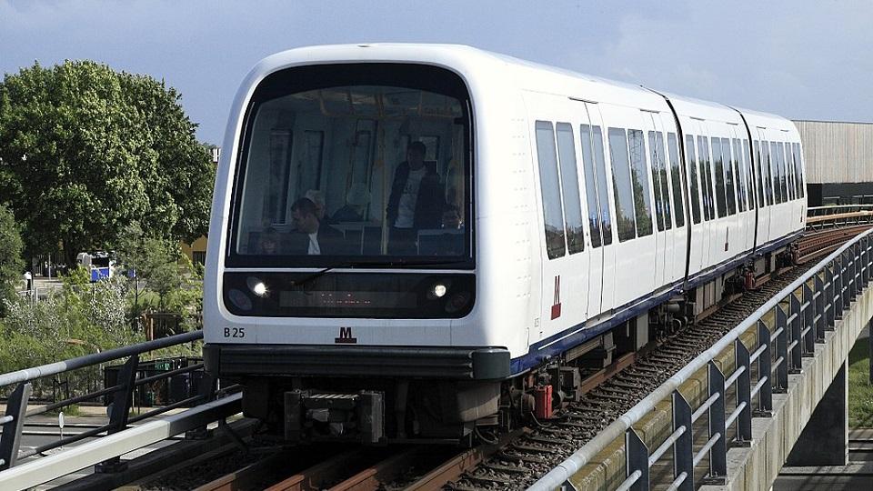 Fully automated train in Copenhagen Metro, source: Wikimedia Commons
