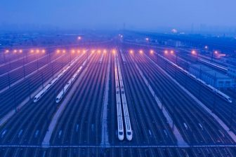 High-speed trains, source: Hollandse Hoogte