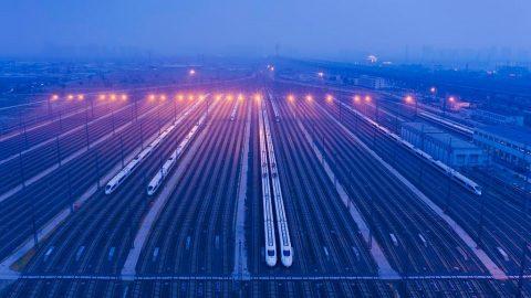 High-speed trains, source: Hollandse Hoogte