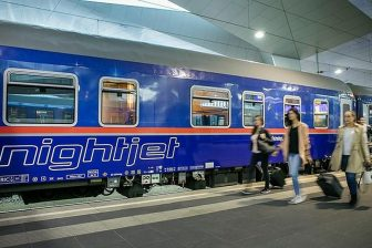 ÖBB Nightjet train, source: ÖBB