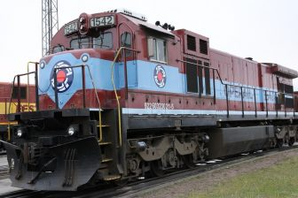 Operail GE C36-7 locomotive, source: Operail