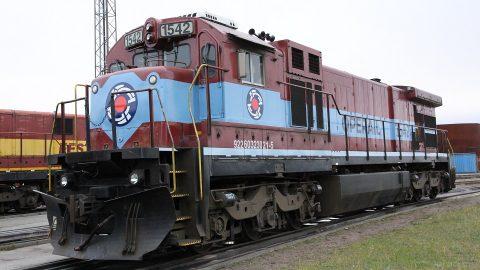 Operail GE C36-7 locomotive, source: Operail