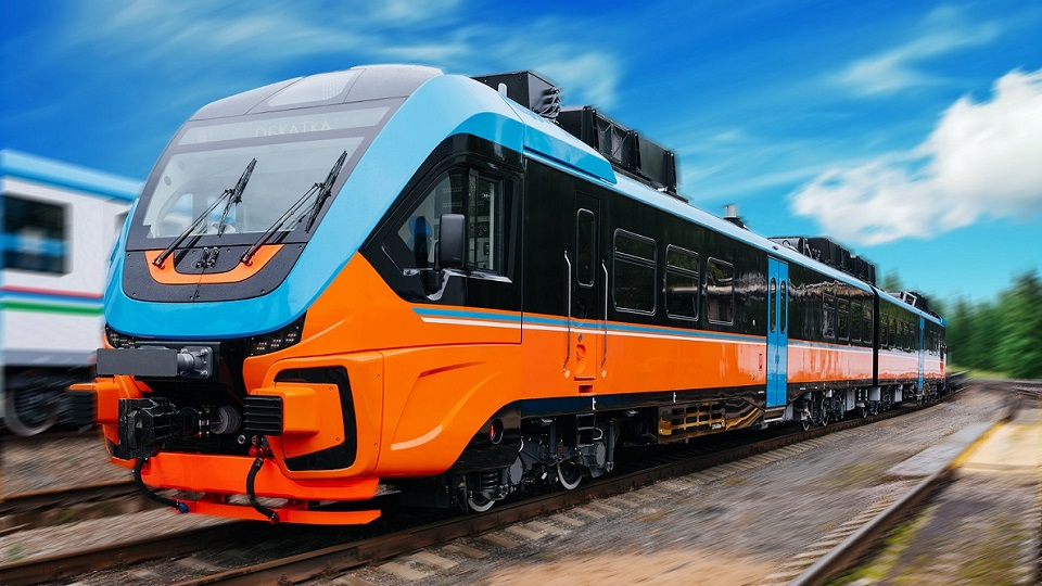 RA-3 railbus for Central Suburban Passenger Company (CSPC), source: Metrovagonmash