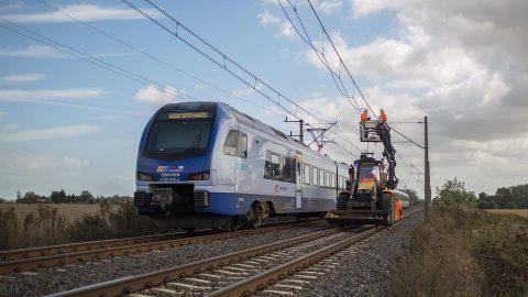 Railway line in Poland, source: PKP PLK