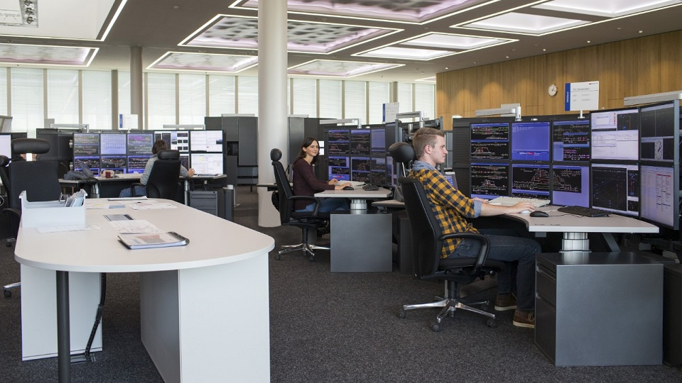 SBB control centre, source: SBB