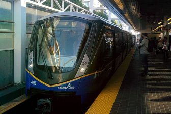 SkyTrain automated service in Vancouver, source: WikiMedia Commons