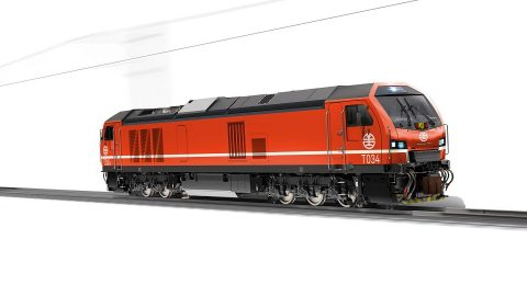 Stadler locomotive for Taiwan Railways Administration, source: Stadler Rail