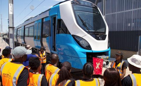 X'Trapolis Mega train assembled in South Africa, source: Gibela