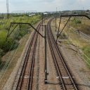 Dual gauge railway in Ukraine