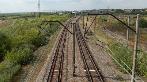 Dual gauge railway in Ukraine