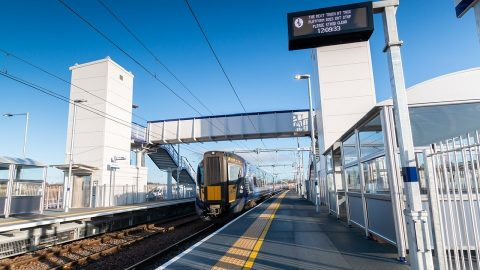 Robroyston railway station