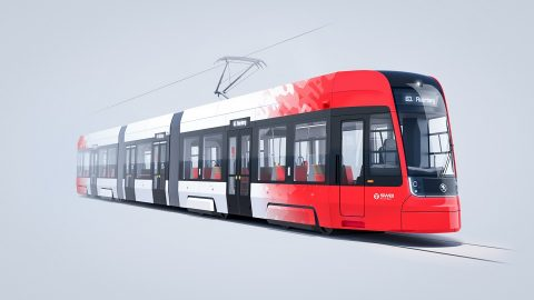 Škoda ForCity Smart tram
