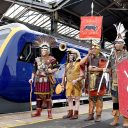 Romans at Chester train station