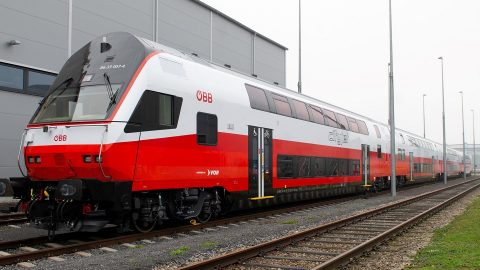 ÖBB Cityjet double-decker train, source: ÖBB