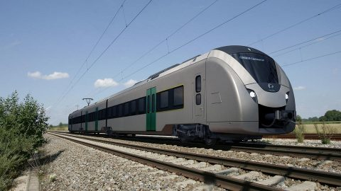 Coradia Continental battery-electric train
