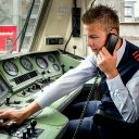 Deutsche Bahn train driver