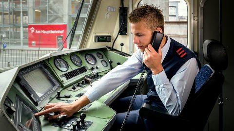 Deutsche Bahn train driver