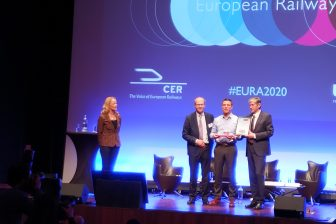 Geert Pauwels wins the European Railway Award 2020