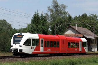 Stadler GTW diesel train of Arriva Netherlands, source: Stadler Rail