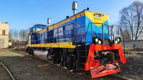TEMG1 LNG-powered shunting locomotive, source: Sinara Group